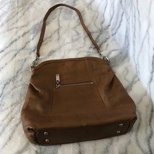 NWOT B. Makowsky Leather Shoulder Bag